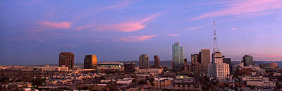 Buildings In A City, Phoenix, Maricopa Print by Panoramic Images