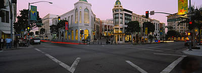 Buildings In A City, Rodeo Drive Art Print