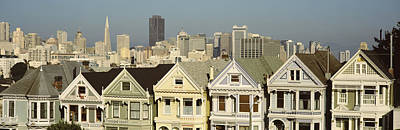 In A Row Photograph - Buildings In A City, San Francisco, San by Panoramic Images