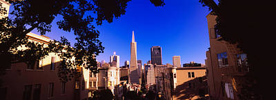 Buildings In A City, Telegraph Hill Art Print by Panoramic Images