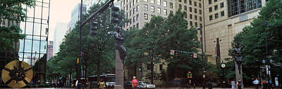 Charlotte Photograph - Buildings In A City, Trade And Tryon by Panoramic Images