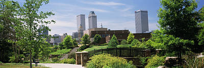Oklahoma Photograph - Buildings In A City, Tulsa, Oklahoma by Panoramic Images