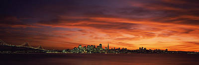 Romantic Location Photograph - Buildings In A City, View From Treasure by Panoramic Images