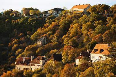 Buildings In Lhospitalet Village Art Print