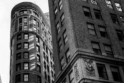 Photograph - Buildings In New York by Jose Maciel
