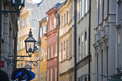Gamla Stan Photograph - Buildings In Old Town, Gamla Stan by Panoramic Images