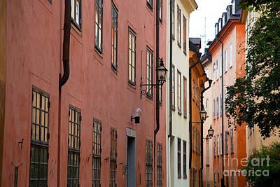 Photograph - Buildings In Stockholm by Michal Bednarek