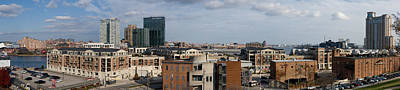 Baltimore Photograph - Buildings Near A Harbor, Inner Harbor by Panoramic Images
