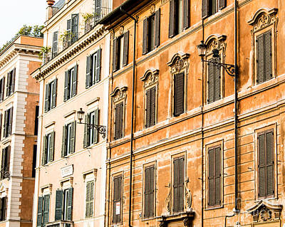 Photograph - Buildings Of Rome II by Christina Klausen