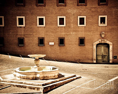 Photograph - Buildings Of Rome Iv by Christina Klausen