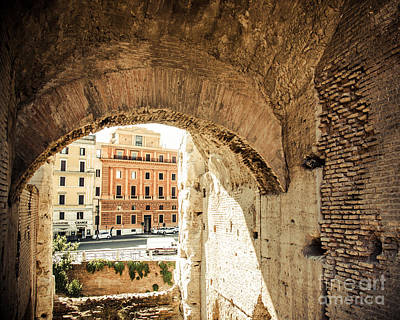 Photograph - Buildings Of Rome V by Christina Klausen