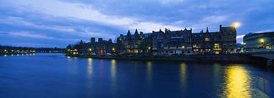 Buildings On The Waterfront, Inverness Art Print by Panoramic Images