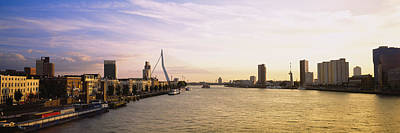 Rotterdam Photograph - Buildings On The Waterfront, Rotterdam by Panoramic Images