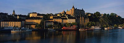 Buildings On The Waterfront, Stockholm Art Print by Panoramic Images