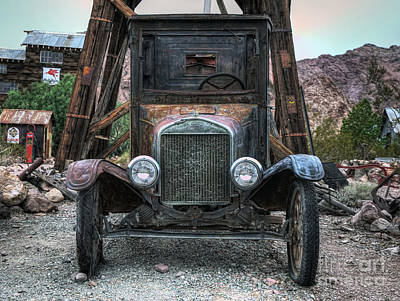 Photograph - Built Ford Tough by Eddie Yerkish