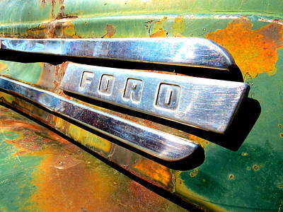Built Ford Tough Art Print by Ramona Johnston