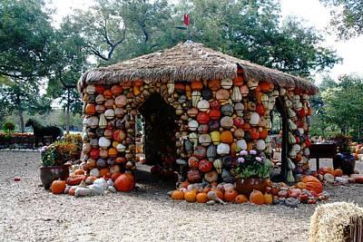 Digital Art - Built Pumpkin Strong by Carrie OBrien Sibley