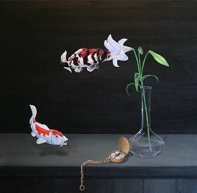 Surrealism Painting - Buiten Westen by Michel Sehstedt