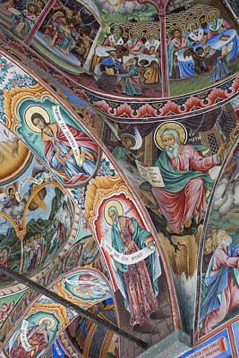 Eastern Orthodox Wall Art - Photograph - Bulgaria, Southern Mountains, Rila by Walter Bibikow