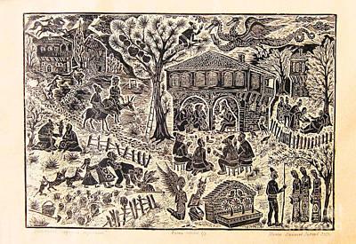 Bulgarian Folk Tales Art Print