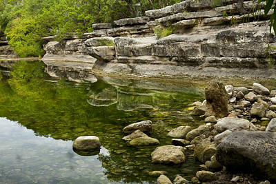 Austin Photograph - Bull Creek by Mark Weaver