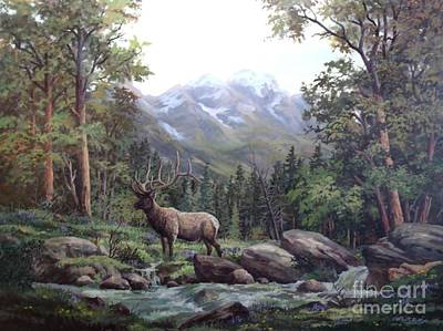 Bull Meadow Art Print by W  Scott Fenton