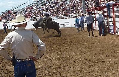 Photograph - Bull Rider  by Susan Garren