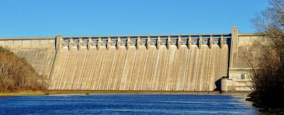 Photograph - Bull Shoals Dam by Michelle McPhillips