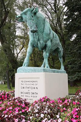 Bull Smithtown New York Art Print
