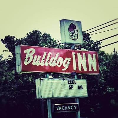 Bulldog Inn Art Print by Brandon Addis
