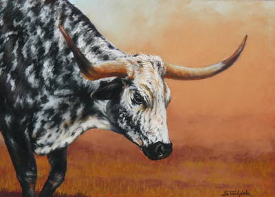 Drawing - Bulldust by Margaret Stockdale