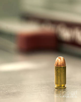 Laura Wrede Photograph - Bullet Art 2 by Artist and Photographer Laura Wrede