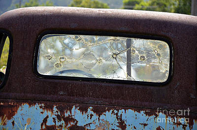 Photograph - Bullet Holes by Paul Mashburn