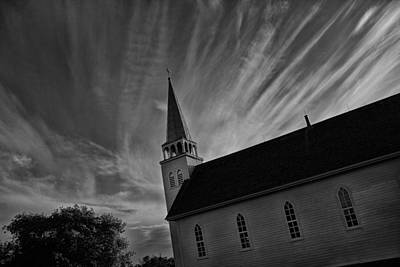 Photograph - Bullet Riddled Church by Ryan Crouse