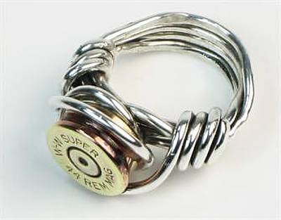 Jewelry - Bullet Shell Casing Ring - Sterling Silver by Vagabond Folk Art - Virginia Vivier