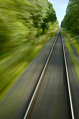 Photograph - Bullet Train by Owen Weber
