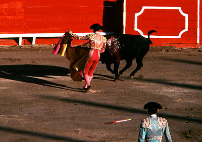 Photograph - Bullfight - Matador Watches by Robert  Rodvik