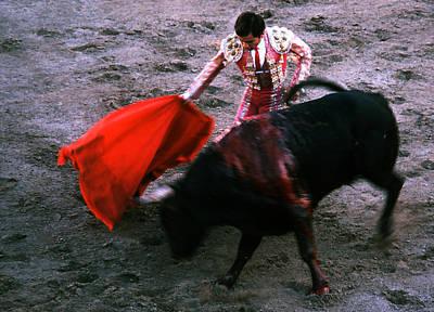 Photograph - Bullfight - Pas De Toro by Robert  Rodvik
