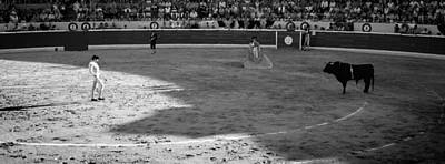 Bullfighter Photograph - Bullfighter Ready For Bullfight by Panoramic Images