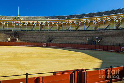 Photograph - Bullfighting Arena by Patricia Hofmeester
