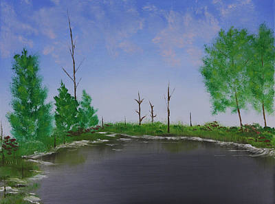 Bullfrog Reservoir Art Print by Jennifer Muller