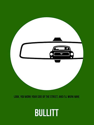 Bullitt Poster 2 Art Print by Naxart Studio