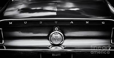 Exhaust Pipe Photograph - Bullitt   by Tim Gainey