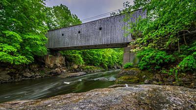Photograph - Bull's Bridge by Randy Scherkenbach