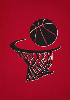 Chicago Bulls Photograph - Bulls Team Hoop2 by Joe Hamilton