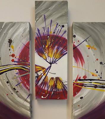 Painting - Bullseye by Darren Robinson