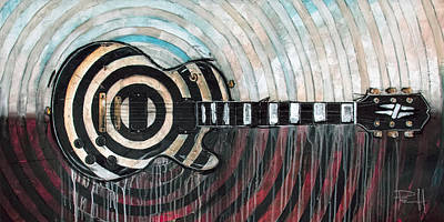 Music Paintings - The Grail by Sean Parnell