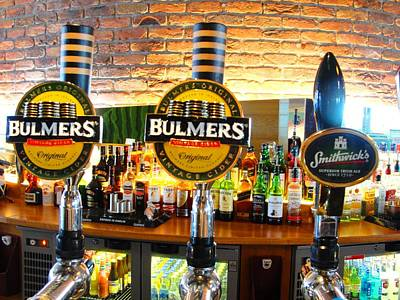 Photograph - Bulmers Please by Charlie and Norma Brock