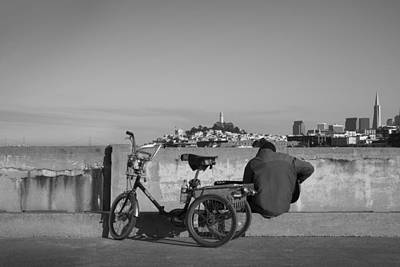 Cycling Wall Art - Photograph - Bumbaya by Casey Merrill