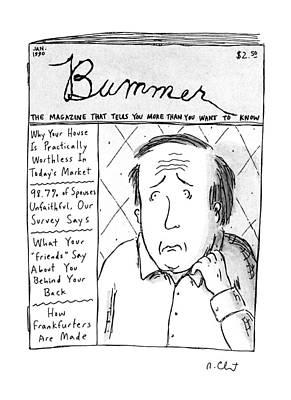 Bummer Magazine Art Print